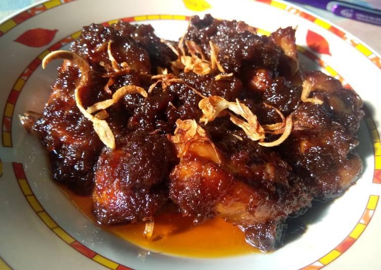 Ayam Masak Bom dari Banjarmasin