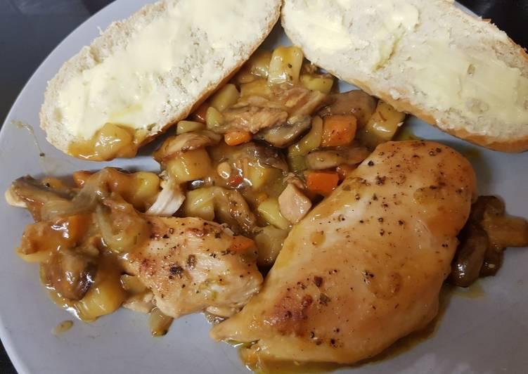 My Garlic Chilli Chicken & Veg. 😀