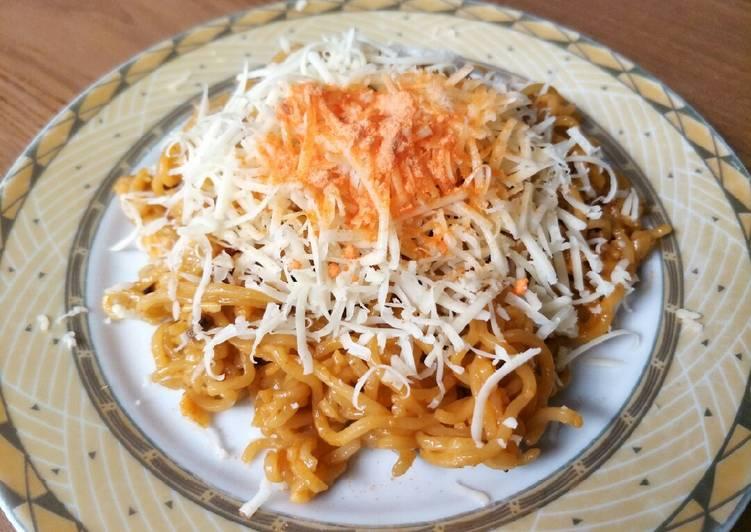 1*Indomie goreng keju simple