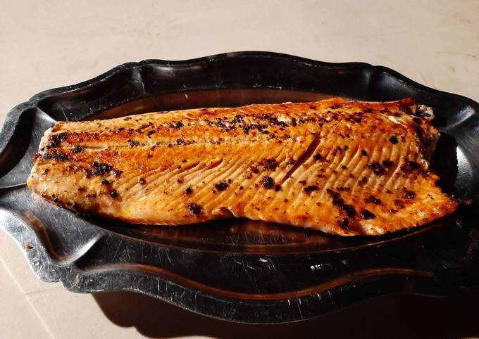 Filet de Saumon à la plancha
