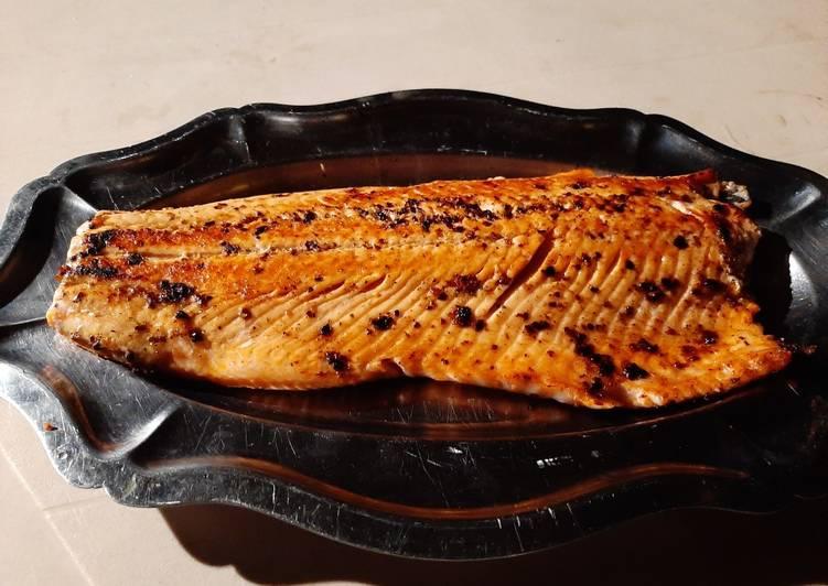 Comment Cuisiner Filet de Saumon à la plancha
