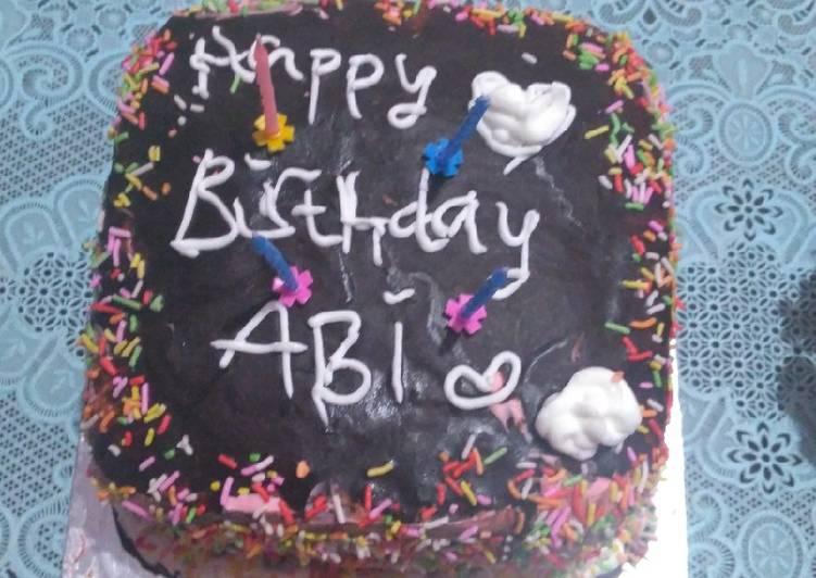 Langkah Mudah untuk Membuat Kue ulang tahun simple yang Sempurna