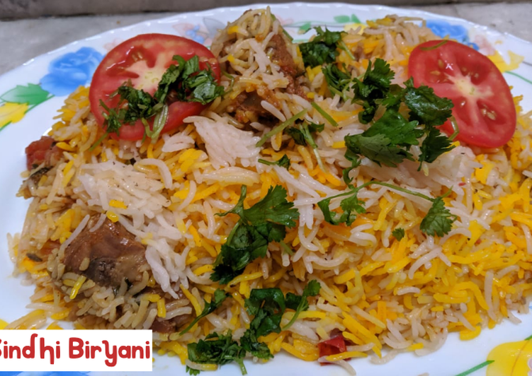 15 Minute Recipe of Refreshing Sindhi Biryani