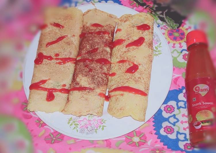 Recipe of Perfect Semolina with tomato sauce burritos