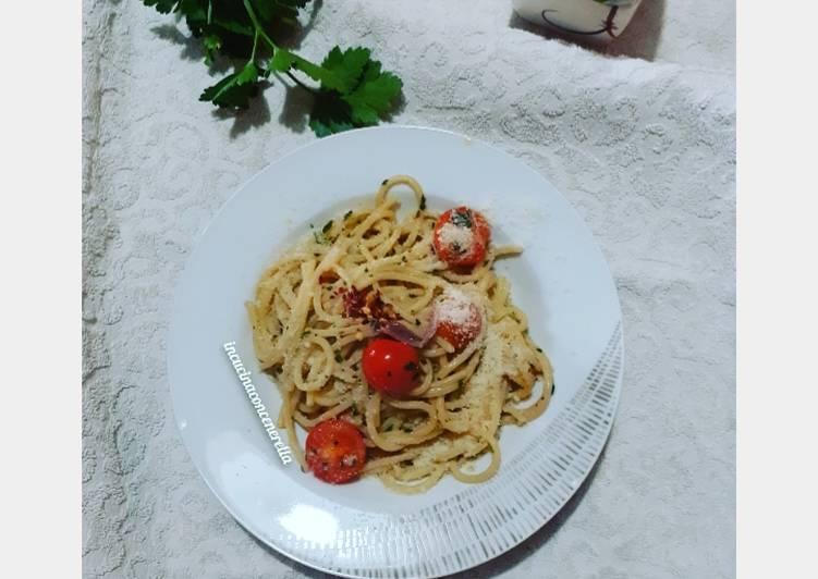Spaghetti sciue' sciue'