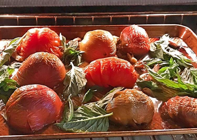 Recipe of Favorite Roasted heirloom tomato sauce