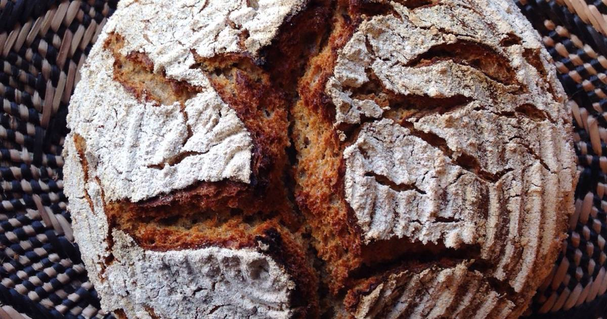 Sourdough Rye Bread With Spelt And Wheat Dutch Oven Ver