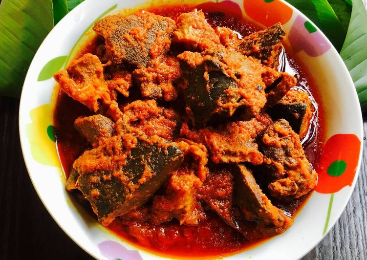 Recipe of Ultimate Assorted Meat stew and Leaf Rice