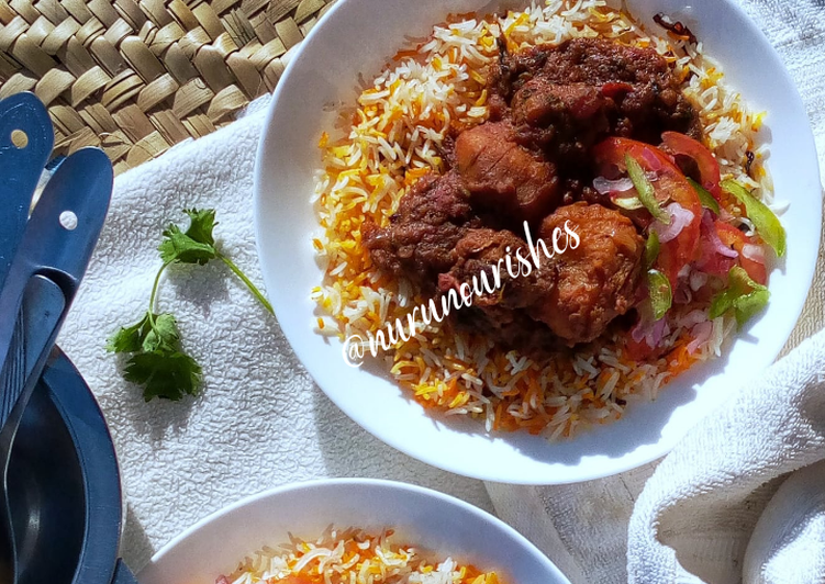 Beef Biryani Curry with Pawpaw