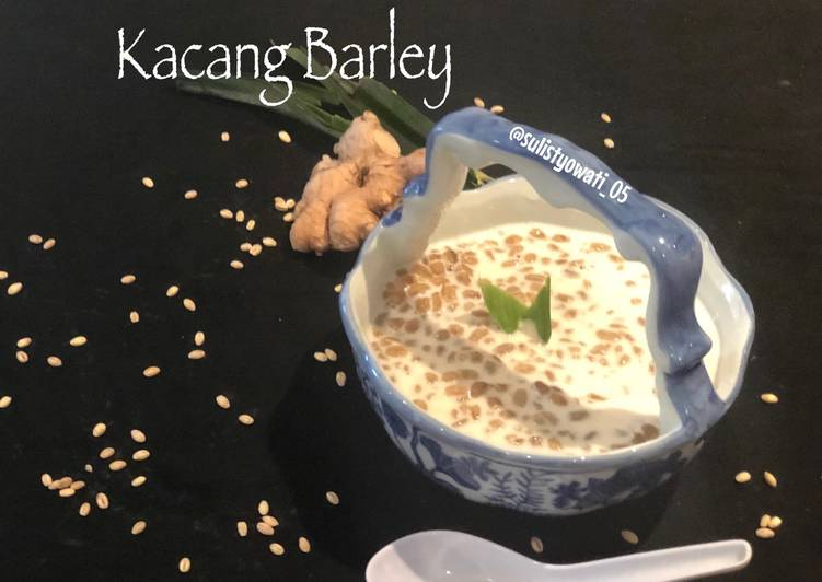 Bubur Kacang Barley