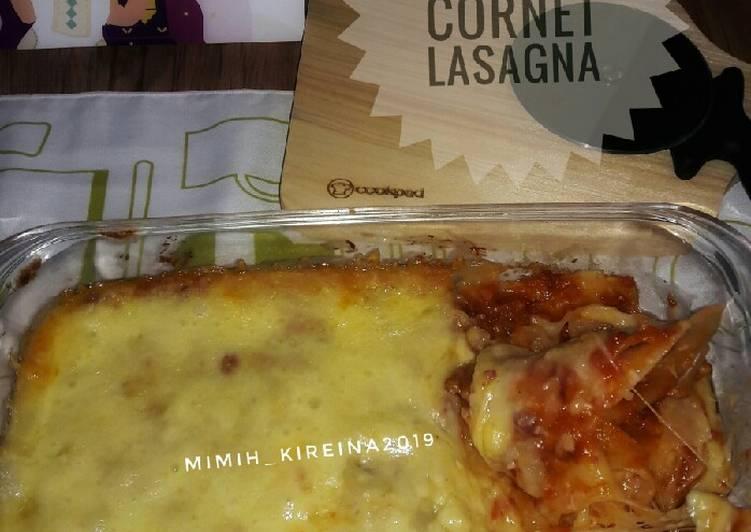 Resep Beef Cornet Lasagna Oleh Mimih Kireina Cookpad