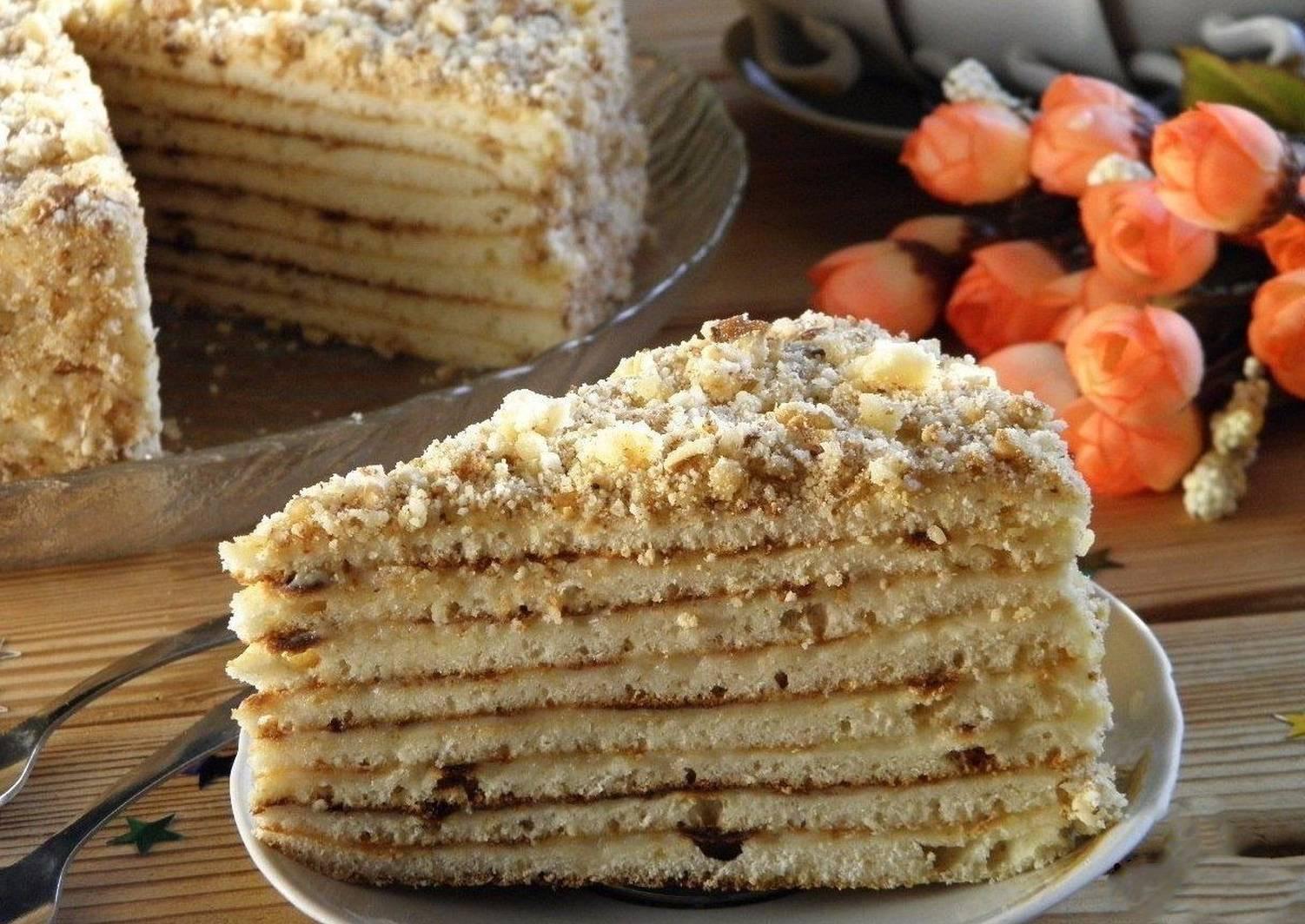 тортики на сковороде рецепты с фото такое водный маникюр