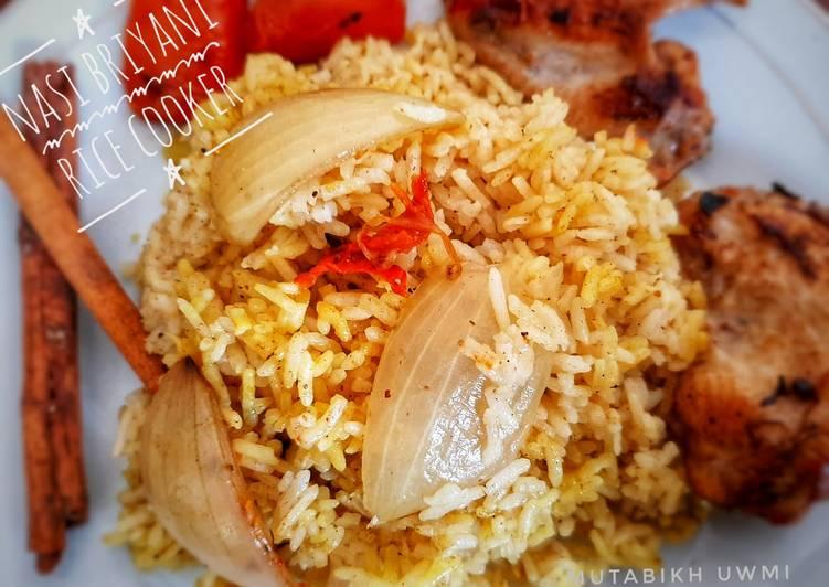 Nasi Briyani Rice Cooker (Beras Biasa)