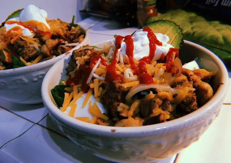 Recipe: Delicious Keto Taco Salad