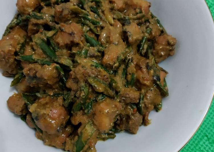 Gulai Gurita (Ke'ite) khas Bengkulu
