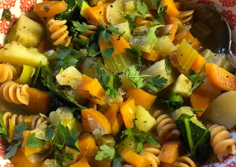 Recipe of Homemade Vegetable soup