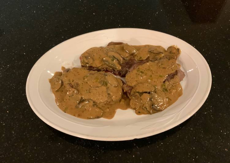 Steak Diane, Helping Your Heart with The Right Foods