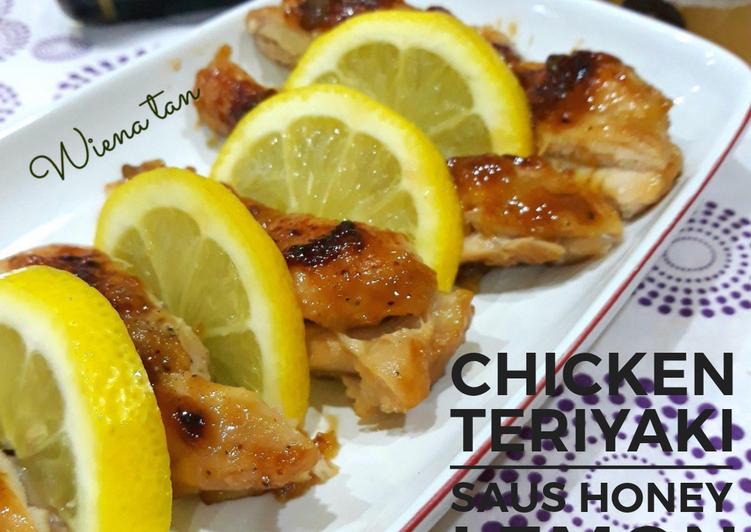 Resep Chicken Teriyaki saus Honey Lemon, Enak Banget