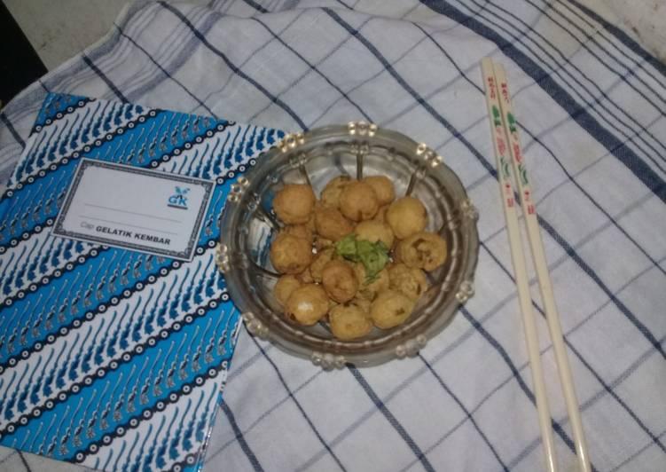 Perkedel Tahu bulat mini - cookandrecipe.com