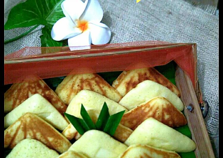 Resep Kue Bapel (Kue Waffle ala Ibukku) Favorit