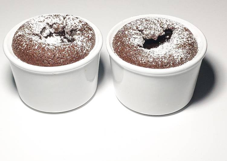 Comment Faire Des Fondant coulant au chocolat