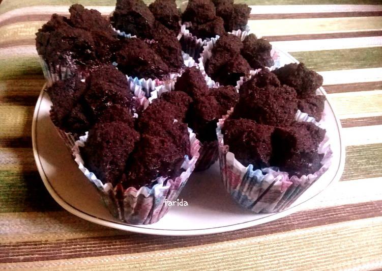 Brownies Mekar Eggles(tepung beras) - cookandrecipe.com
