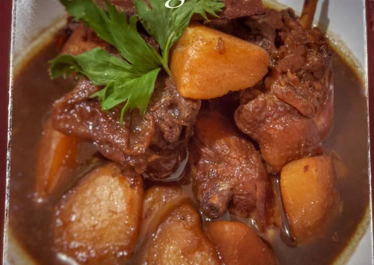 Resep Semur ayam kentang, Lezat