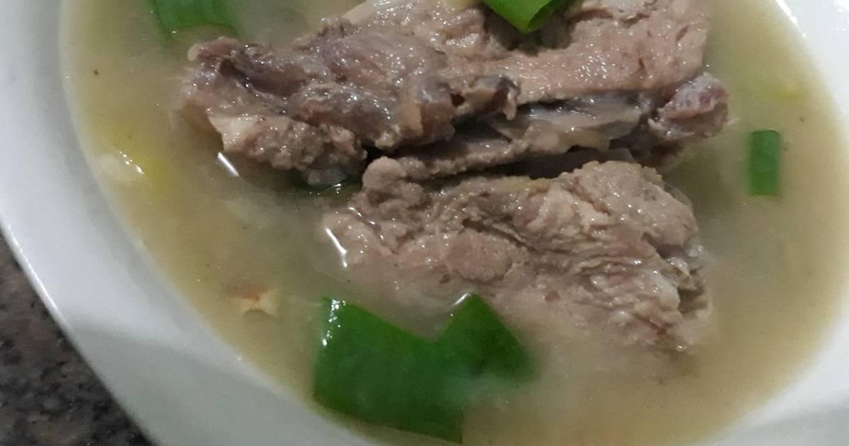 11 Resep Sop Iga Babi Simple Non Halal Untuk Anak Enak Dan Sederhana Ala Rumahan Cookpad