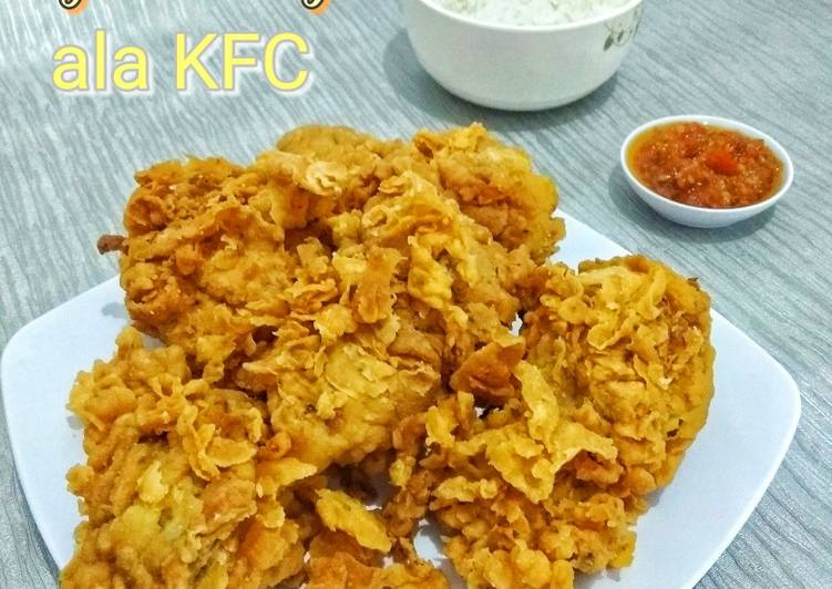 Ayam Keriting Ala KFC