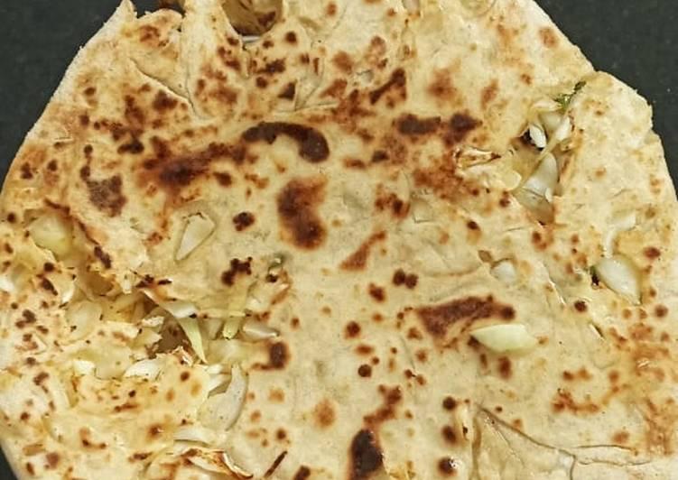 Recipe of Speedy Cabbage Parantha