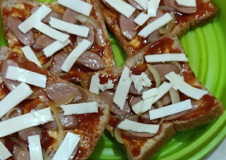 Pizza Roti Tawar Gandum teflon