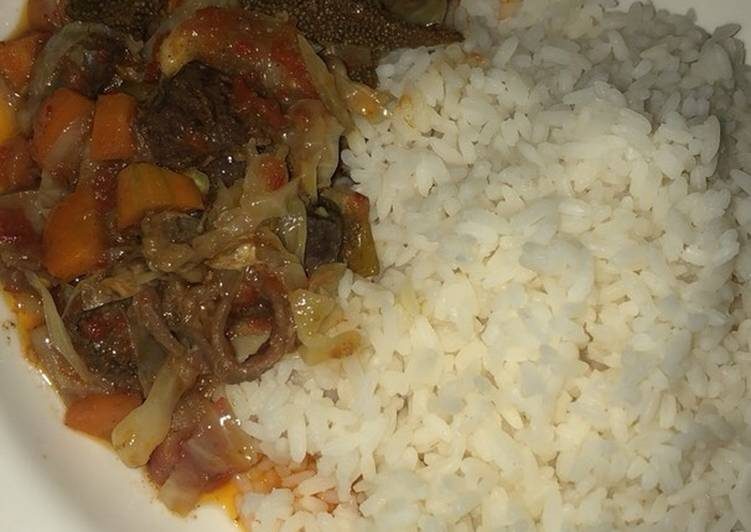 Absolutely Ultimate Dinner Easy Summer Rice with vegetable soup & orisirisi