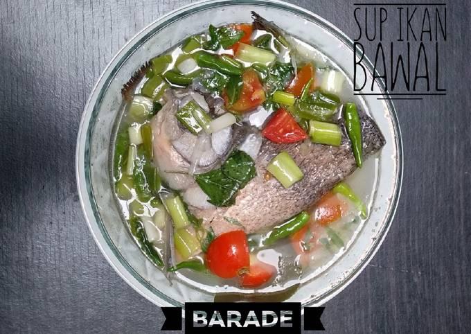 Sup Ikan Bawal Kuah Segar