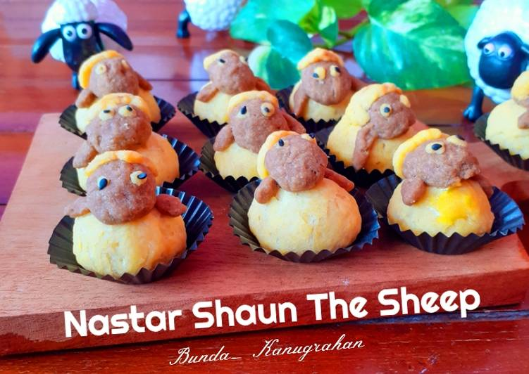 Nastar Shaun The Sheep - cookandrecipe.com