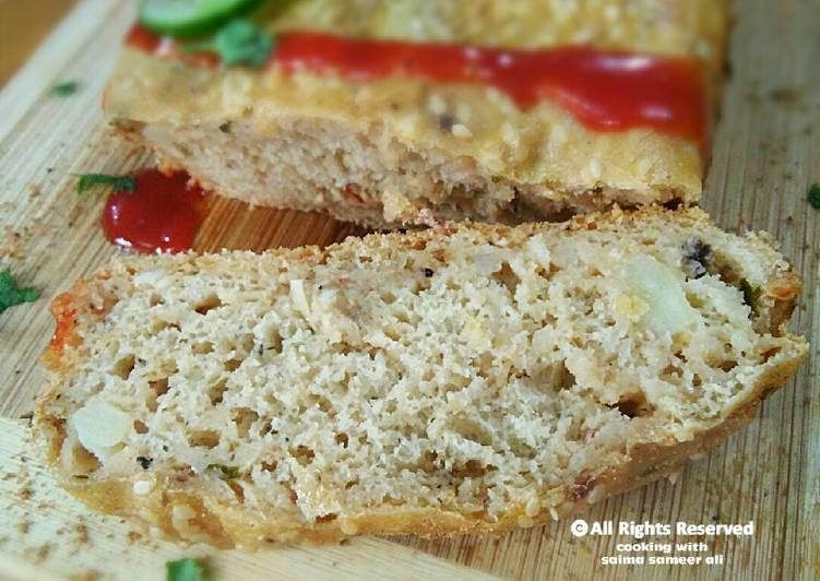 Wholewheat Bread n filling buns bake in pateela