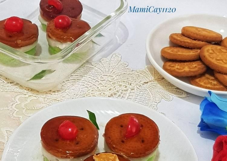 Cake Pandan Talam Jelly Gula Aren