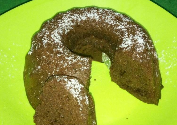 Chocolate cake no mixer no oven