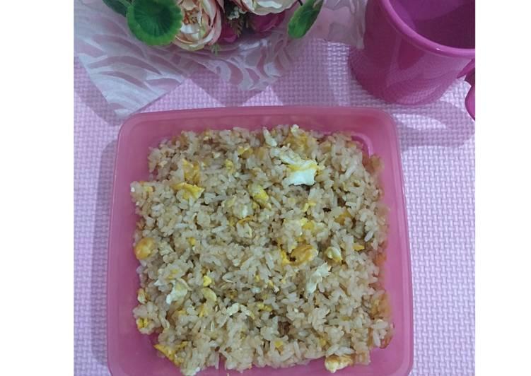 Resep Nasi goreng anak part 2 tanpa bumbu ulek Paling Mudah