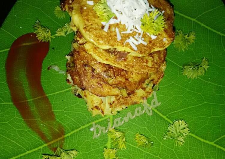 Resep Pancake Kentang~~ Potato Pancake ~~ Paling Joss