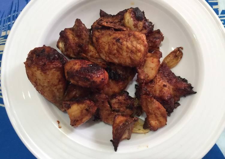 Resep Ayam goreng pedas ala air fryer, Enak