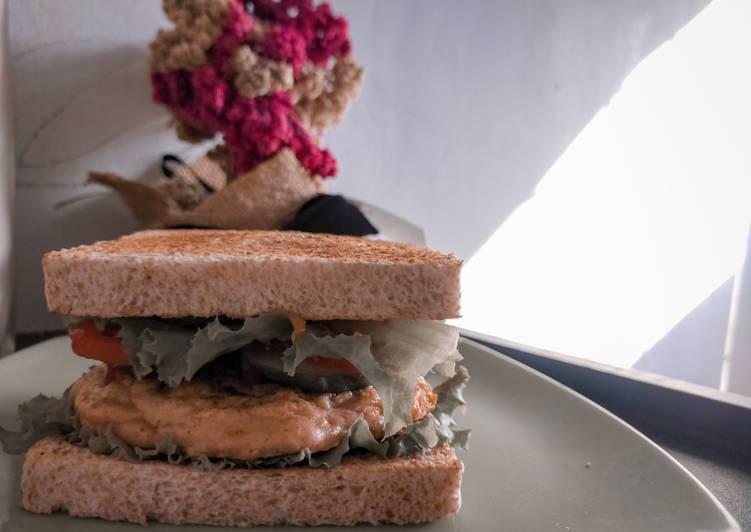 Burger ayam sehat untuk diet