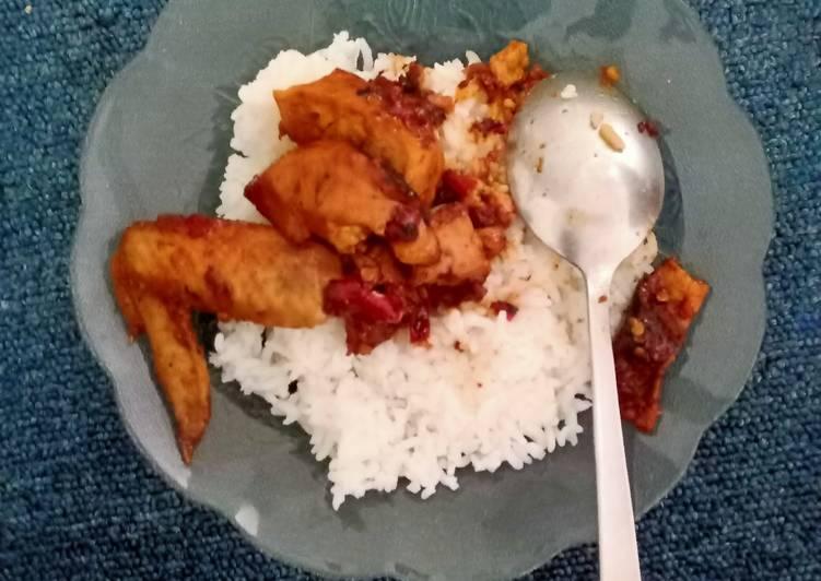 Ayam Tahu Kecap
