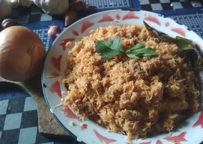 Serundeng Daging Sapi Sederhana - projectfootsteps.org