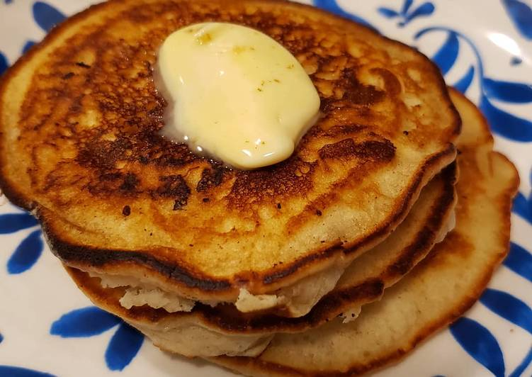 Recipe of Speedy Silver dollar vegan pancakes