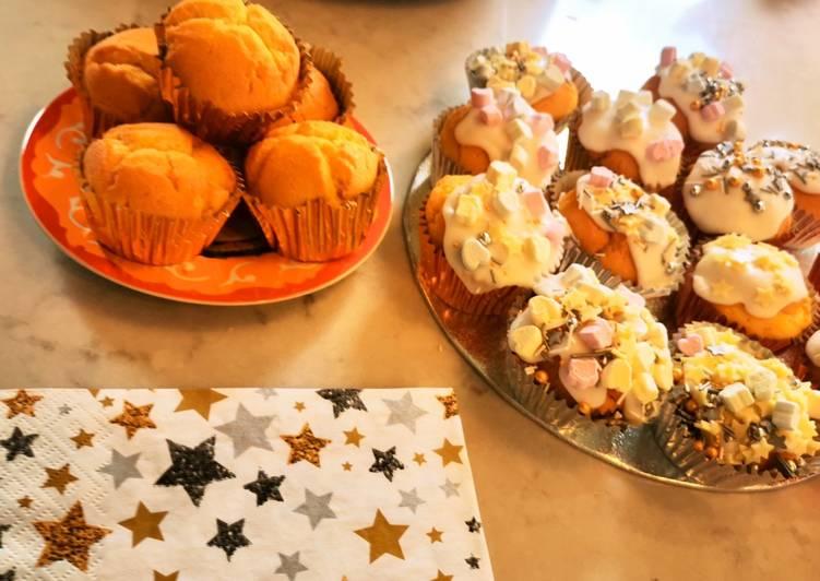 Recipe of Quick Cupcakes (gluten free)