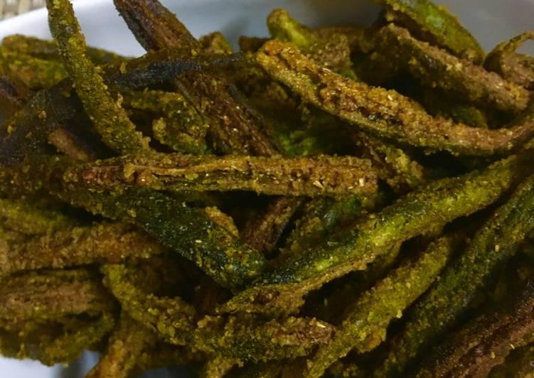 70+ Dinner Easy Super Quick Homemade Kurkuri bhindi