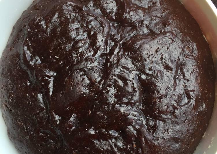 Langkah Mudah untuk Membuat Brownies radix zaitun rice cooker Anti Gagal