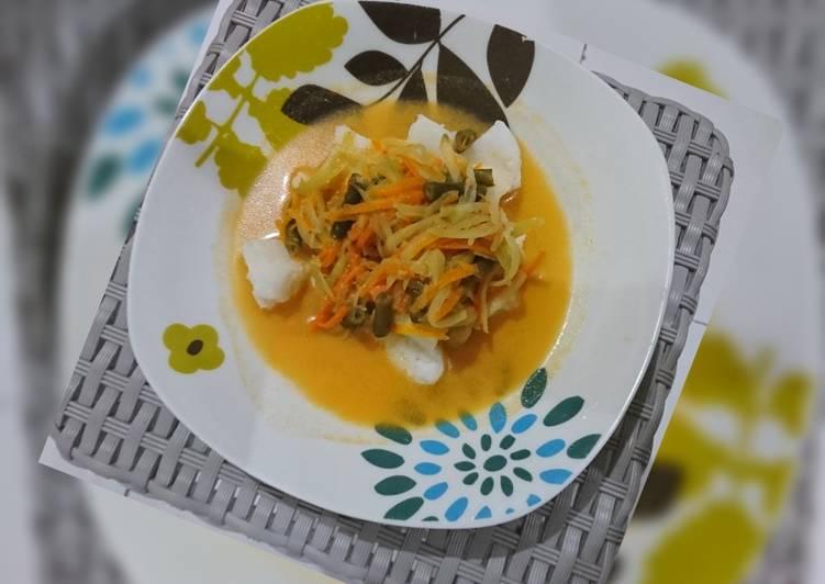 Lontong sayur express ricecooker