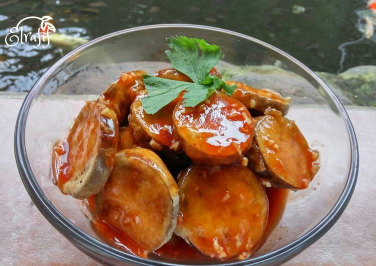 Terong Tepung Saus Thai