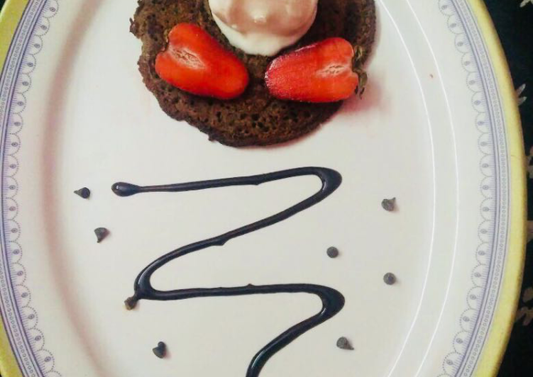 Recipe: Appetizing Chocolate Pancake